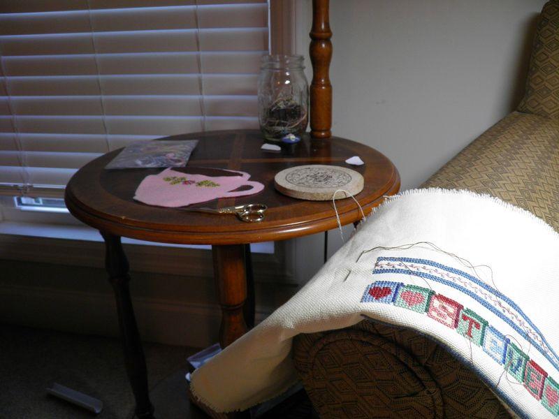 Stitching chair